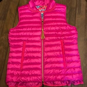 Lilly Pulitzer pink vest size small